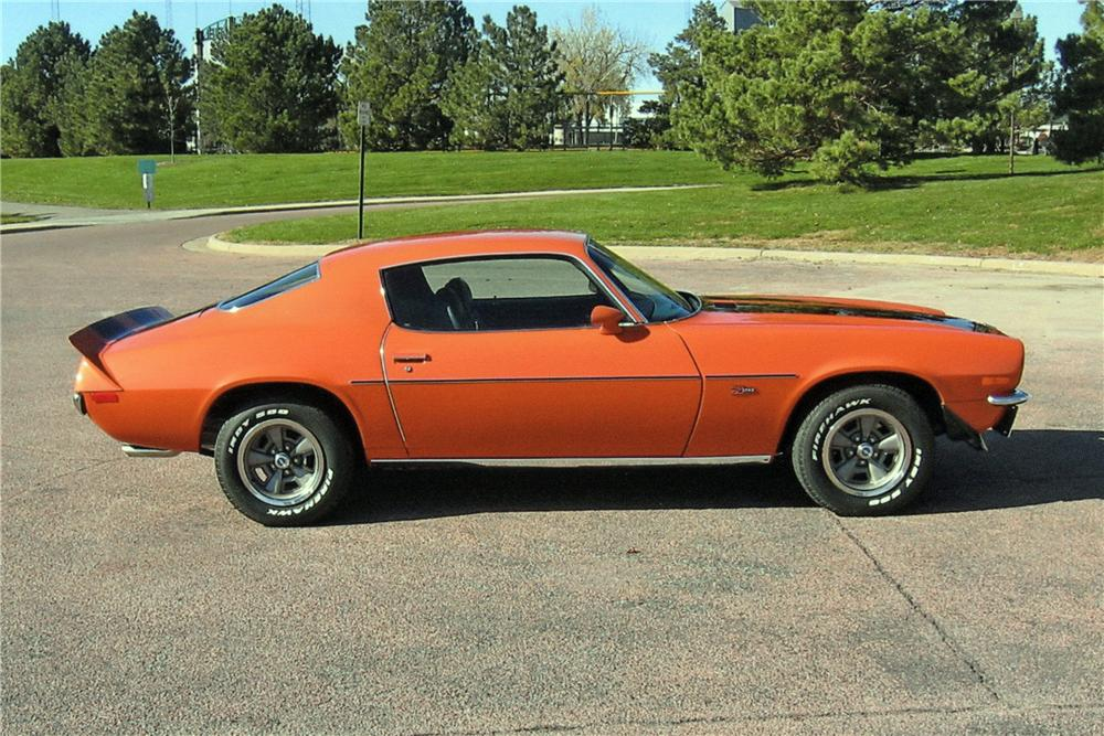 1973 CHEVROLET CAMARO Z/28 RS COUPE - Side Profile - 116025