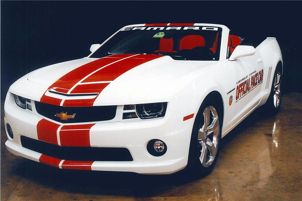 2011 CHEVROLET CAMARO SS CONVERTIBLE - Side Profile - 116040