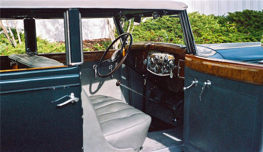 1934 PACKARD 1104 DIETRICH CONVERTIBLE SEDAN - Interior - 116045