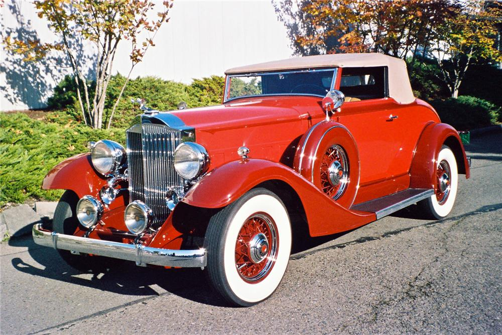1933 PACKARD 1001 COUPE ROADSTER - Front 3/4 - 116046