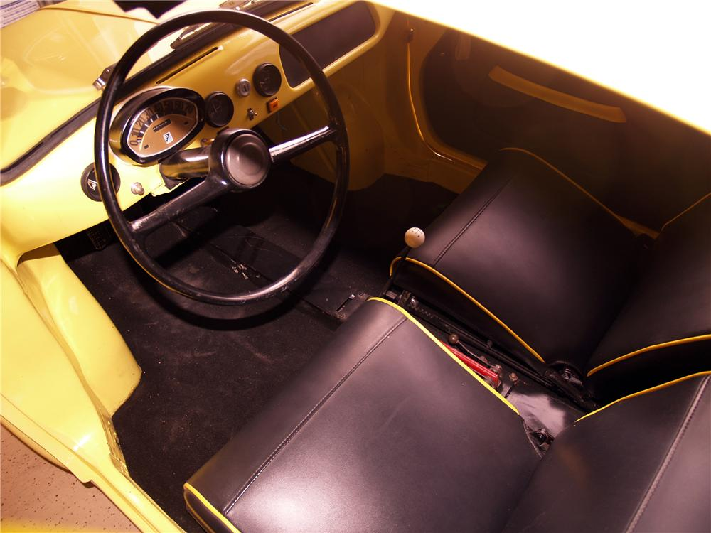 1960 VESPA 400 SEMI CONVERTIBLE - Interior - 116053