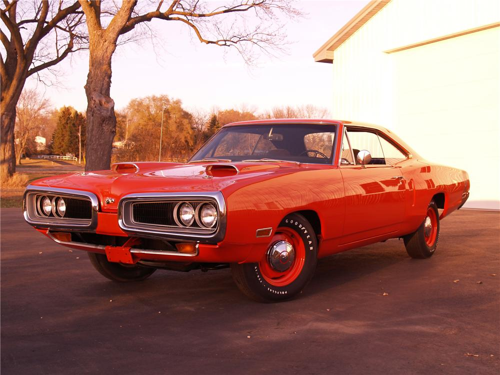 1970 DODGE SUPER BEE 2 DOOR HARDTOP - Front 3/4 - 116055