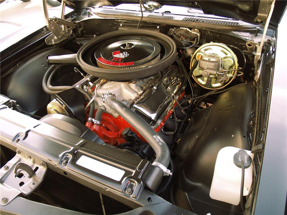 1970 CHEVROLET CHEVELLE SS 396 2 DOOR - Engine - 116056