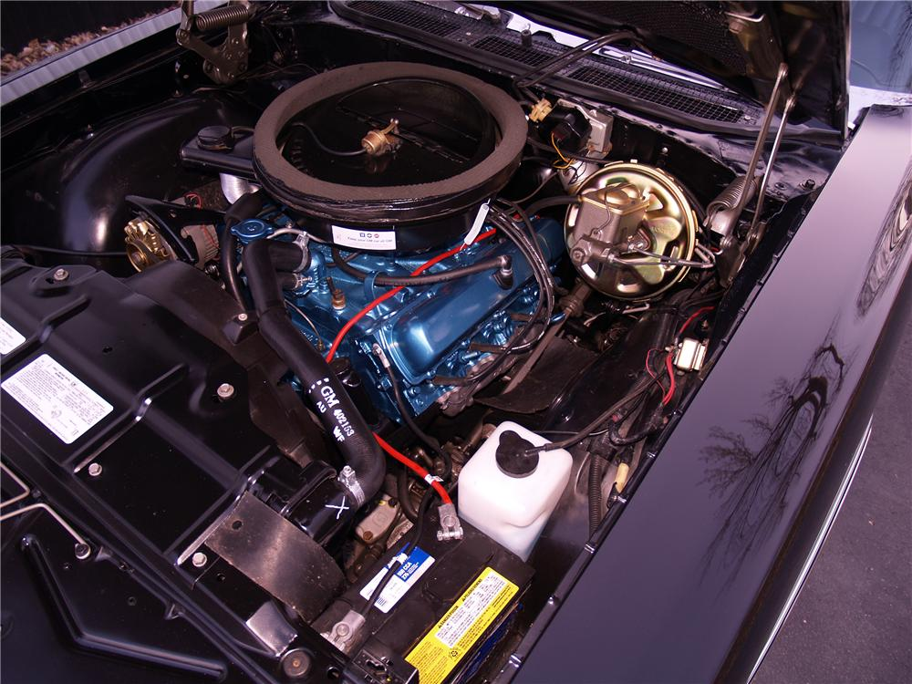1971 OLDSMOBILE 442 CONVERTIBLE - Engine - 116058