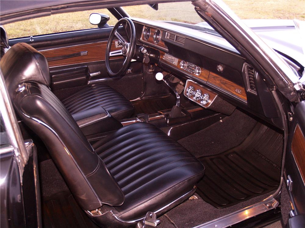1971 OLDSMOBILE 442 CONVERTIBLE - Interior - 116058