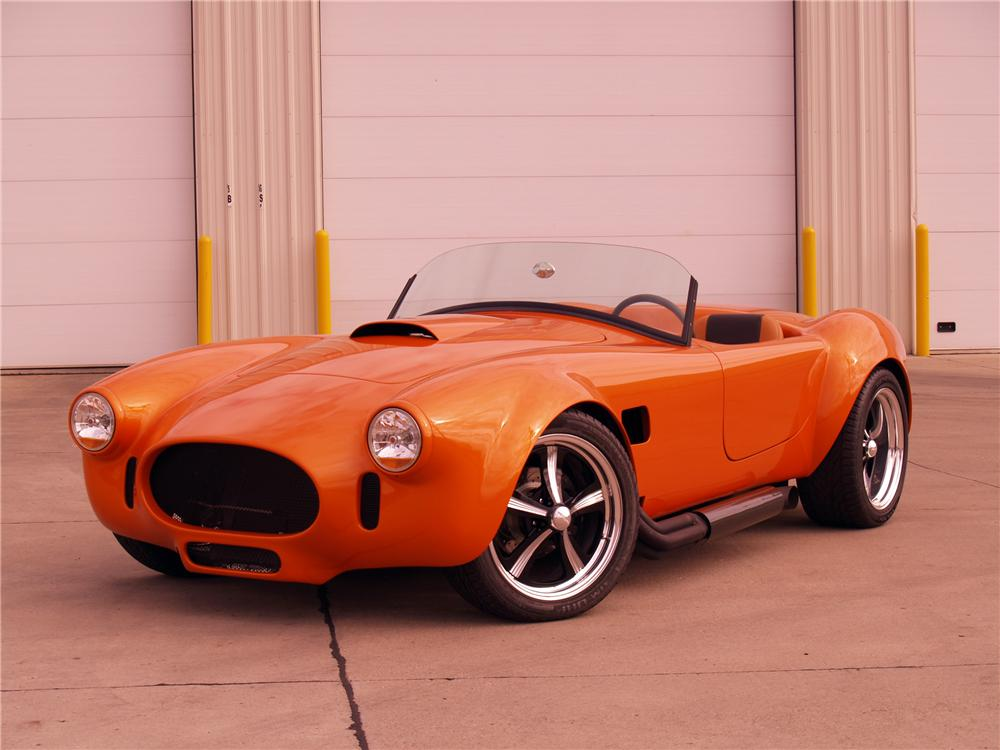 1966 SHELBY COBRA RE-CREATION ROADSTER - Front 3/4 - 116059