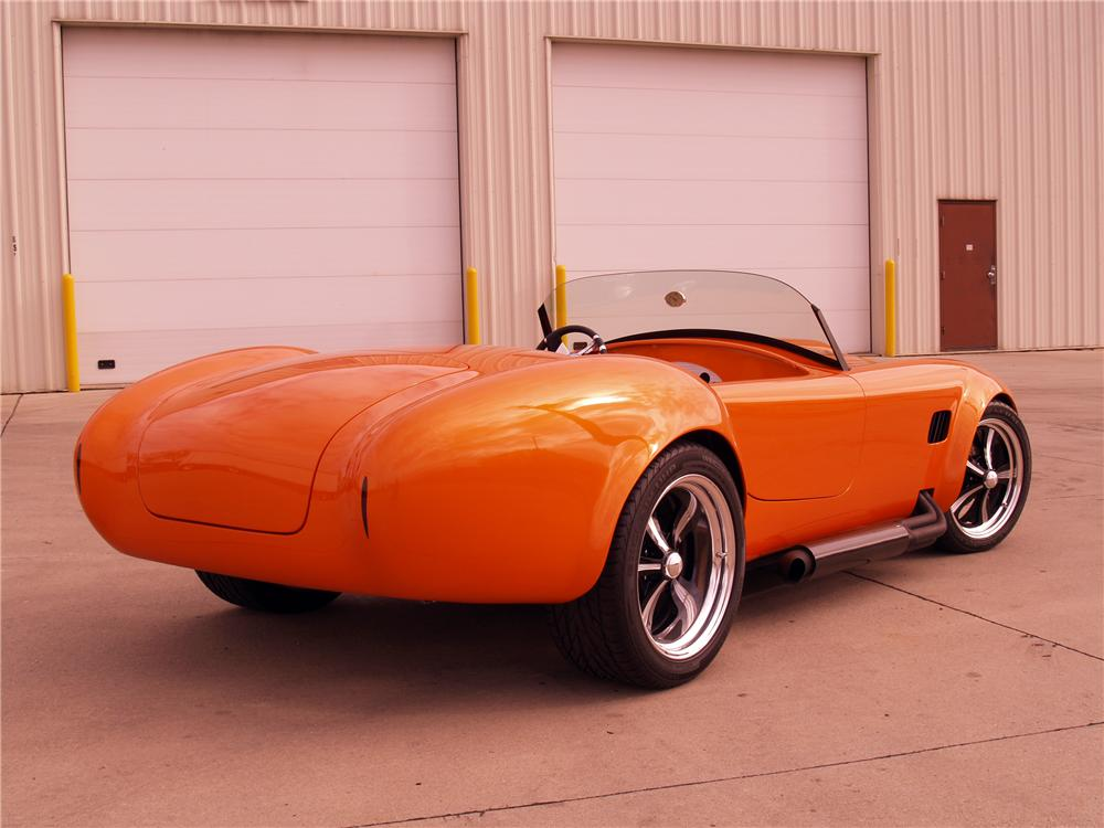 1966 SHELBY COBRA RE-CREATION ROADSTER - Rear 3/4 - 116059