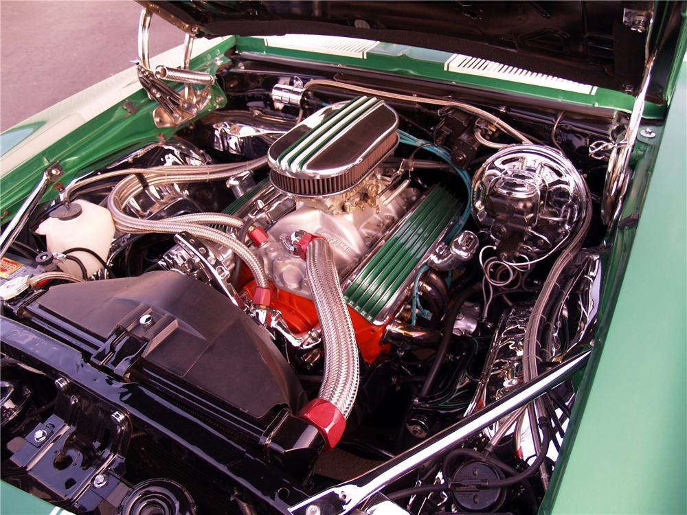 1969 CHEVROLET CAMARO CUSTOM COUPE - Engine - 116060