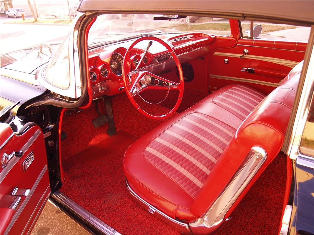 1959 CHEVROLET IMPALA CONVERTIBLE - Interior - 116062