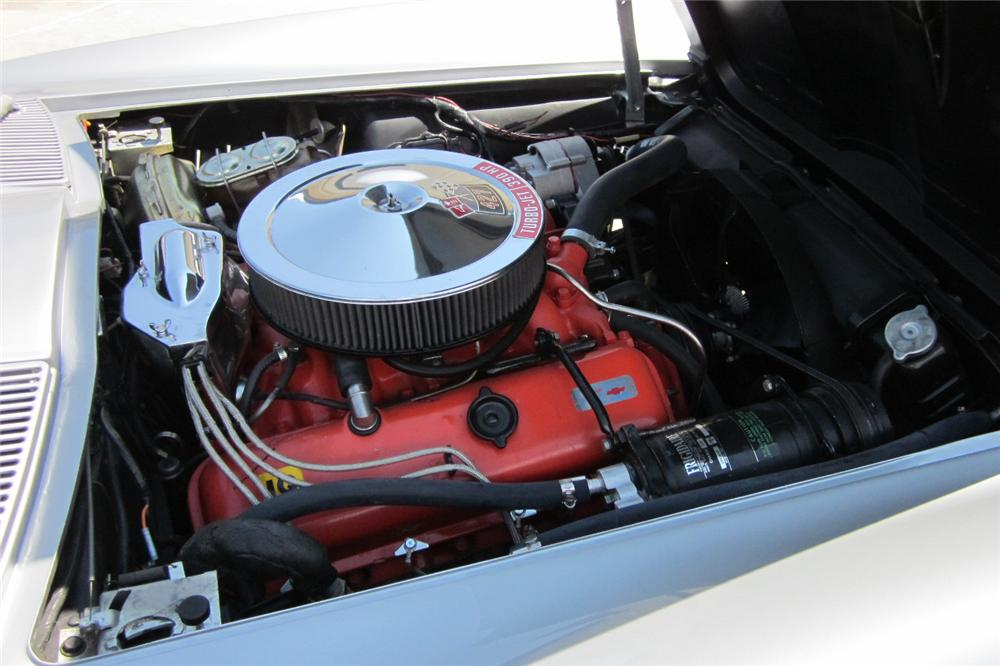 1967 CHEVROLET CORVETTE CONVERTIBLE - Engine - 116069