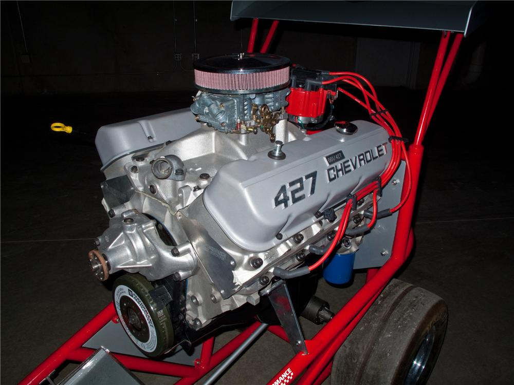 2008 GM PERFORMANCE PARTS ANNIVERSARY EDITION 427 ENGINE & OWNER KIT SERIAL #001 - Front 3/4 - 116076