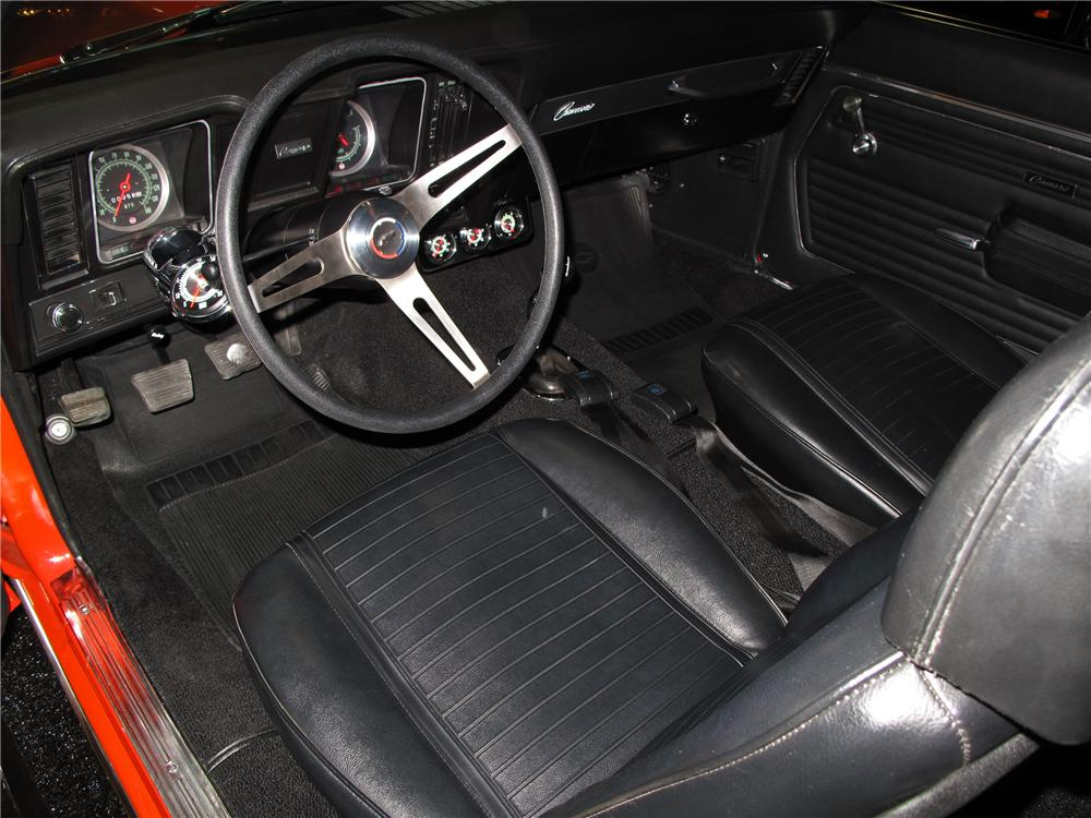 1969 chevrolet camaro yenko continuation coupe 116081 - Interior specialists inc reno nv ...