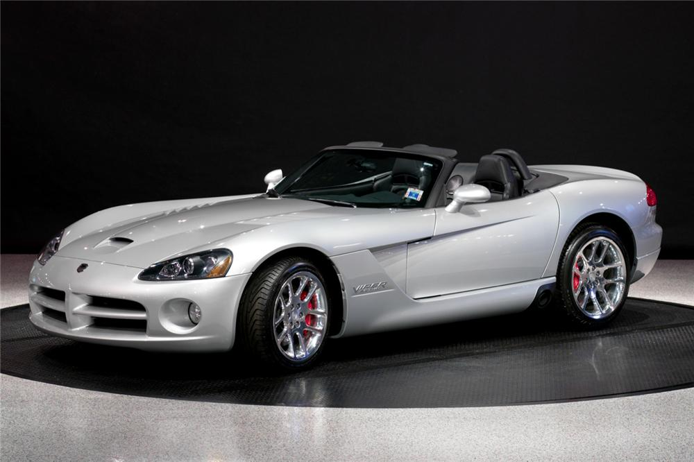 2004 DODGE VIPER SRT/10 CONVERTIBLE - Front 3/4 - 116086