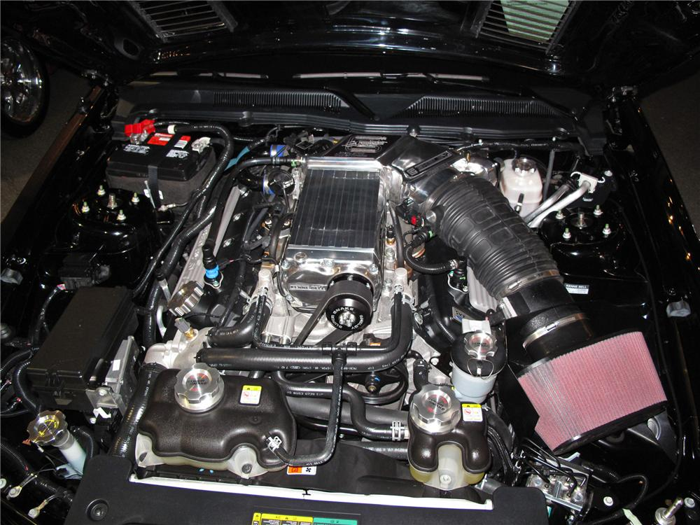 2008 FORD SHELBY GT500 SUPERSNAKE 2 DOOR COUPE - Engine - 116087