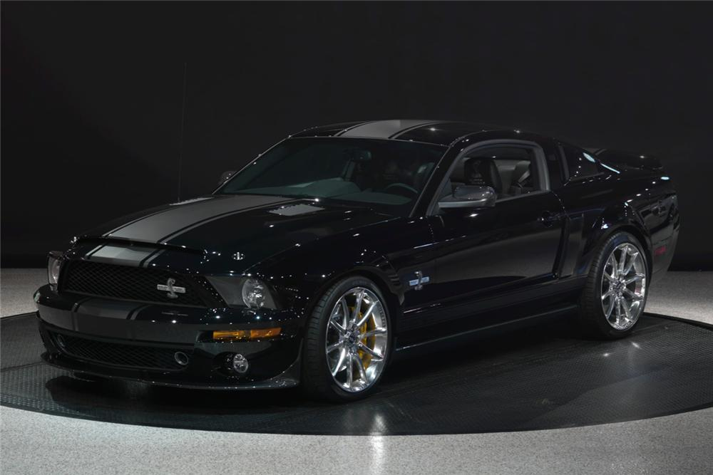 2008 FORD SHELBY GT500 SUPERSNAKE 2 DOOR COUPE - Front 3/4 - 116087