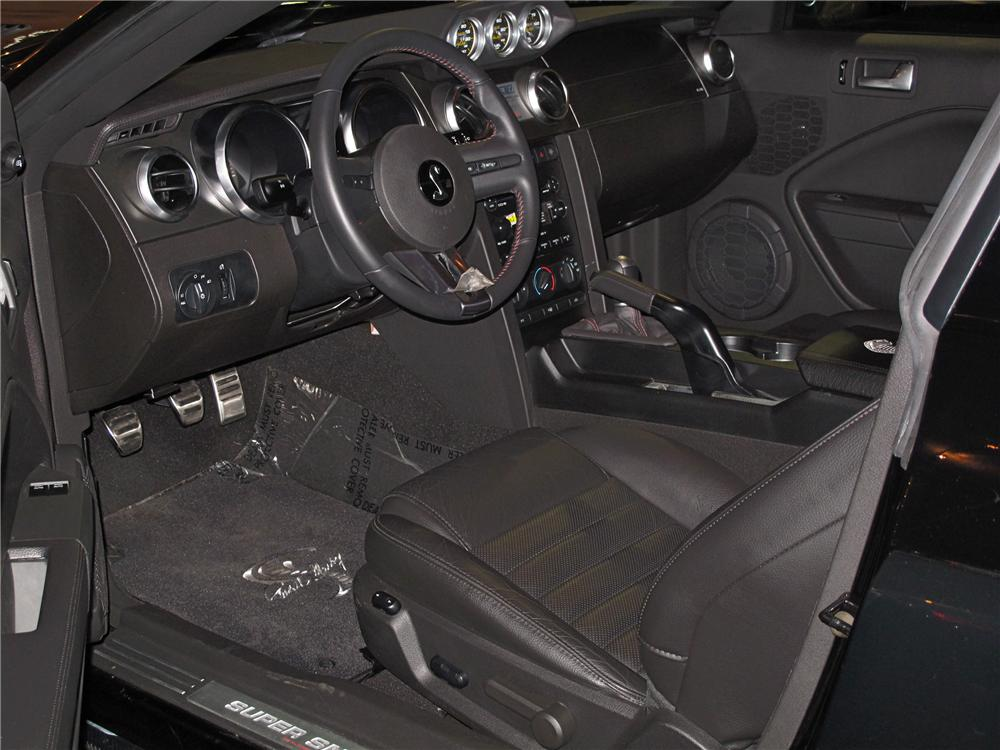 2008 FORD SHELBY GT500 SUPERSNAKE 2 DOOR COUPE - Interior - 116087