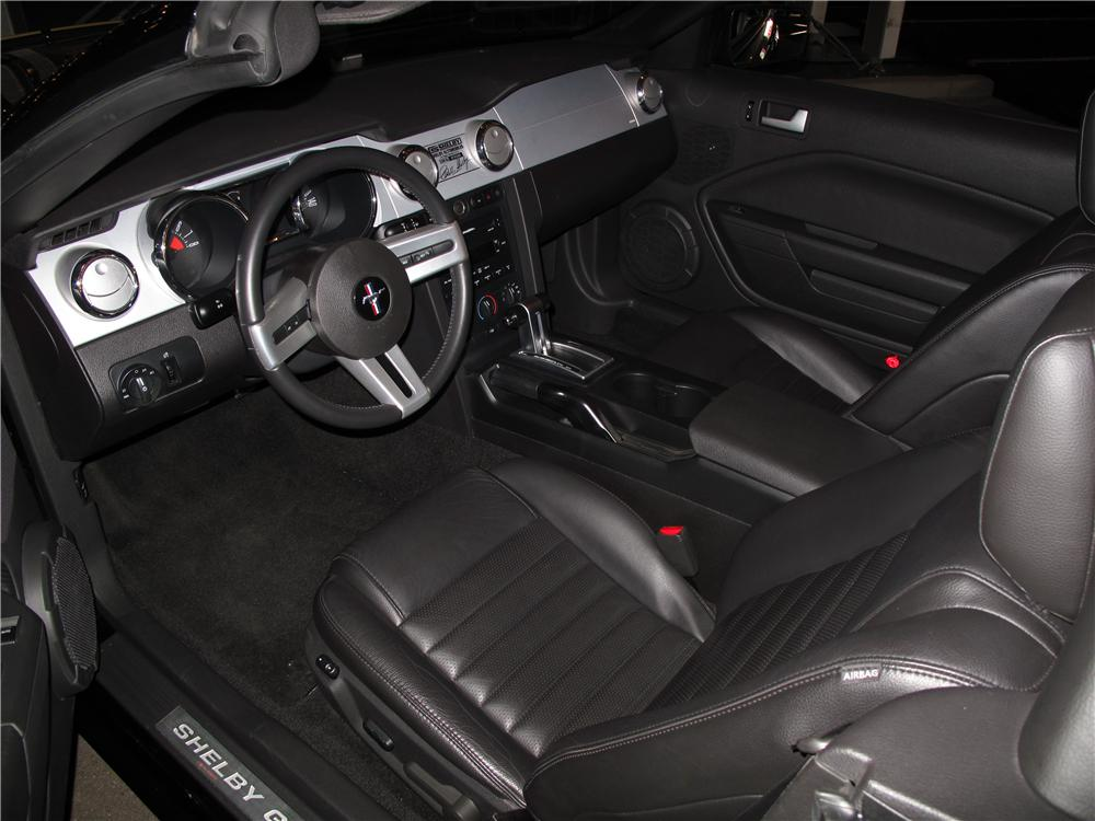 2007 FORD SHELBY GT-H CONVERTIBLE - Interior - 116090
