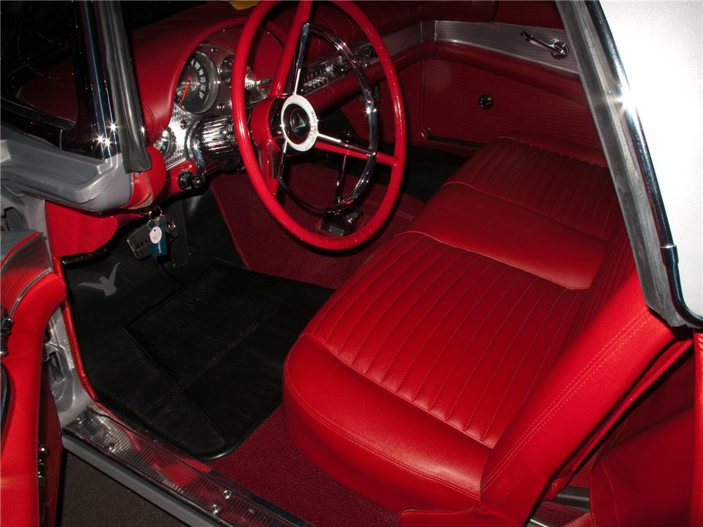 1957 FORD THUNDERBIRD CONVERTIBLE - Interior - 116091