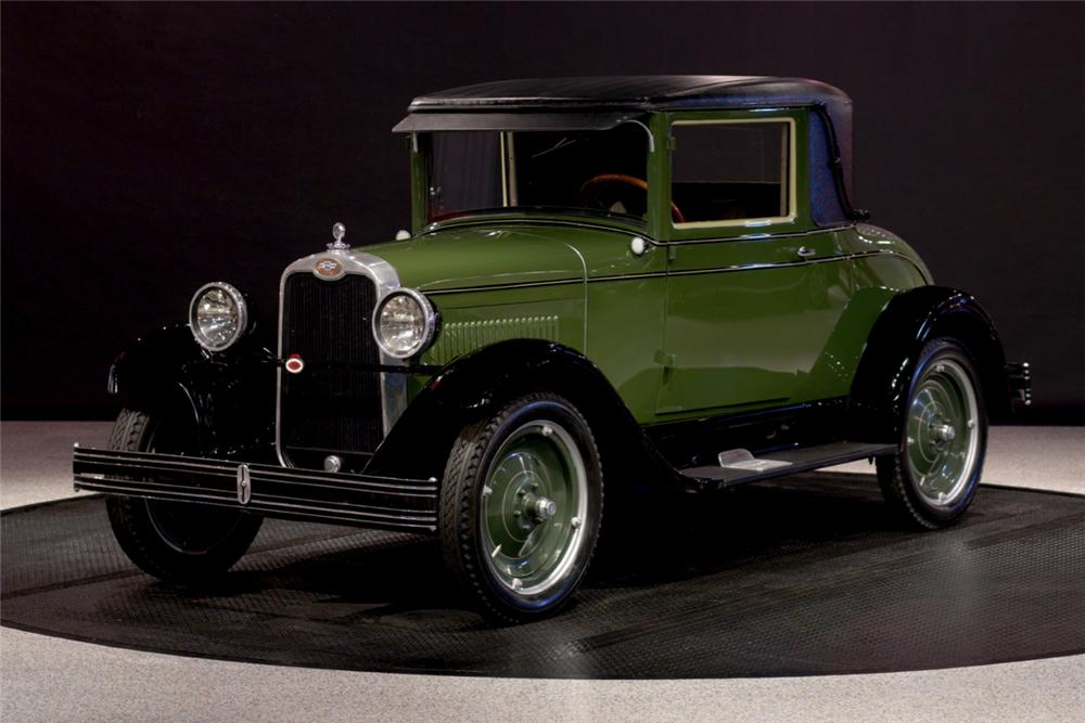 1928 CHEVROLET 2 DOOR COUPE - Front 3/4 - 116094