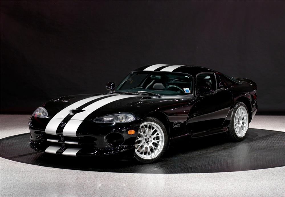 1999 Dodge Viper Gts 2 Door Coupe 116096