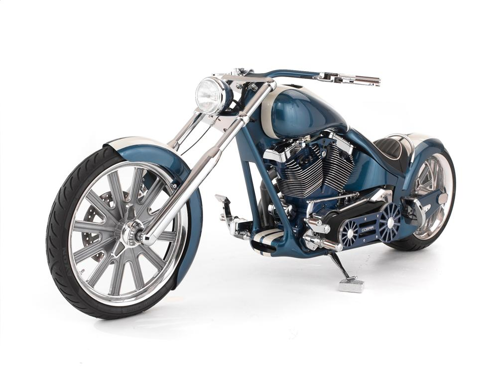 2007 ZACKYS CUSTOM SHELBY COBRA TRIBUTE CHOPPER - Front 3/4 - 116101
