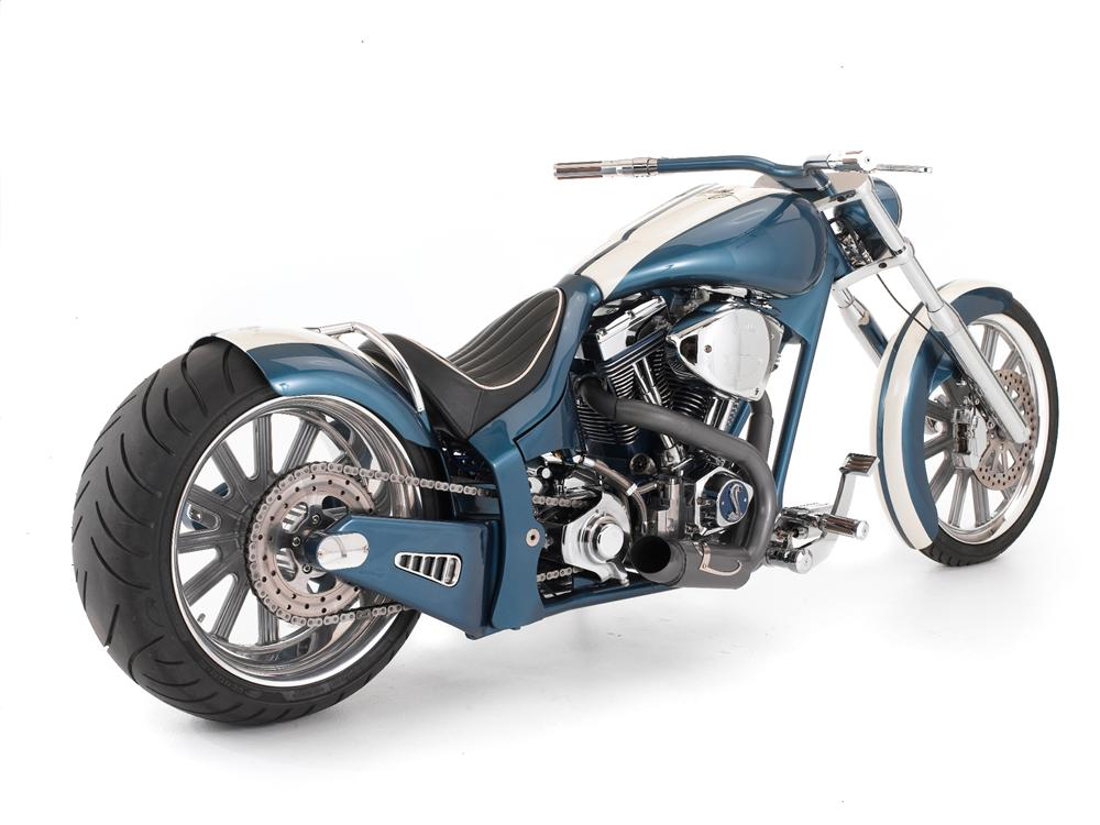 2007 ZACKYS CUSTOM SHELBY COBRA TRIBUTE CHOPPER - Rear 3/4 - 116101