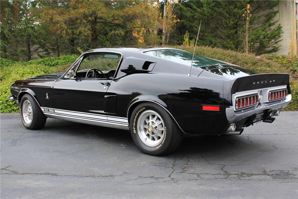 1968 SHELBY GT350 FASTBACK - Rear 3/4 - 116104