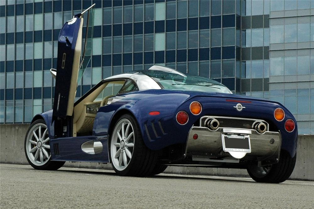 2009 SPYKER C8 LAVIOLETTE COUPE - Rear 3/4 - 116106