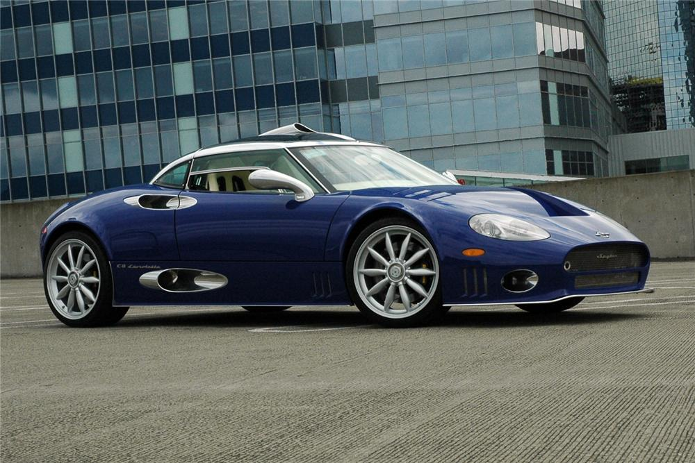 2009 SPYKER C8 LAVIOLETTE COUPE - Side Profile - 116106