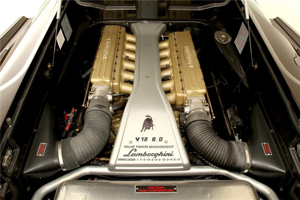 2001 LAMBORGHINI DIABLO COUPE - Engine - 116107