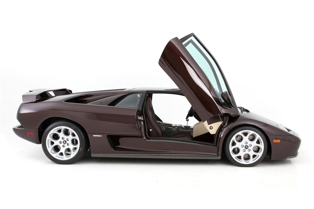 2001 LAMBORGHINI DIABLO COUPE - Side Profile - 116107