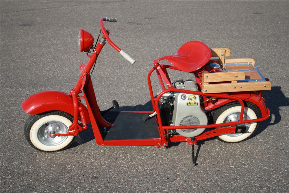 1958 CUSHMAN HIGHLANDER MOTORCYCLE - Side Profile - 116109