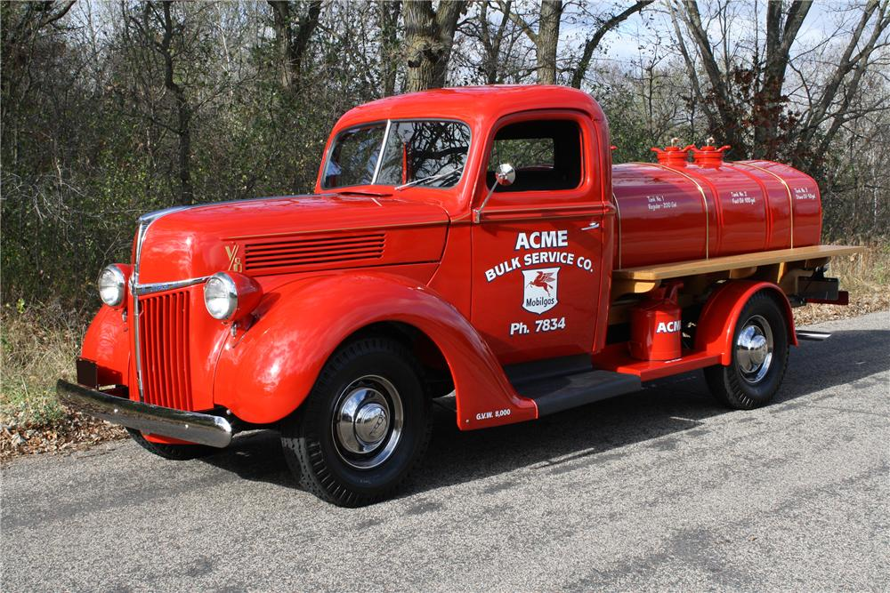 1940 ford 3 4 ton tanker truck 116110. Black Bedroom Furniture Sets. Home Design Ideas