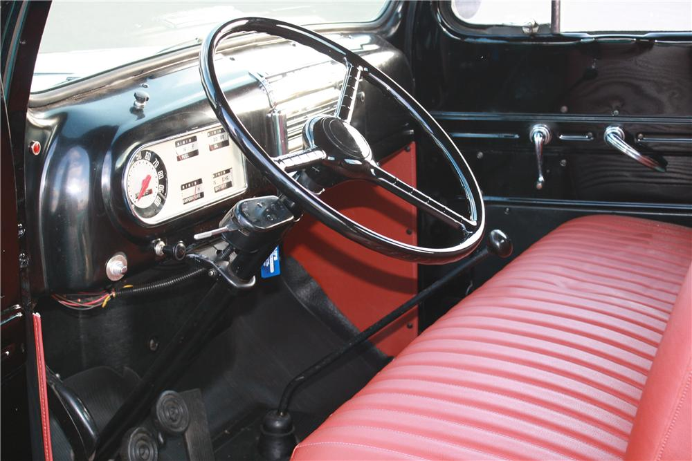 1950 FORD F-1 PICKUP - Interior - 116114