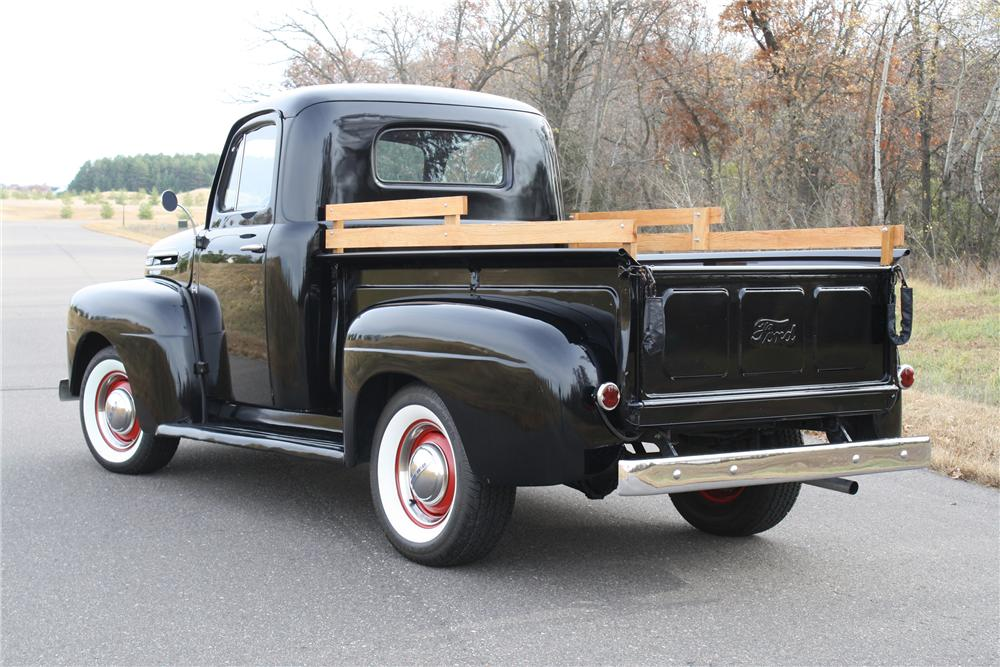 1950 FORD F-1 PICKUP - Rear 3/4 - 116114