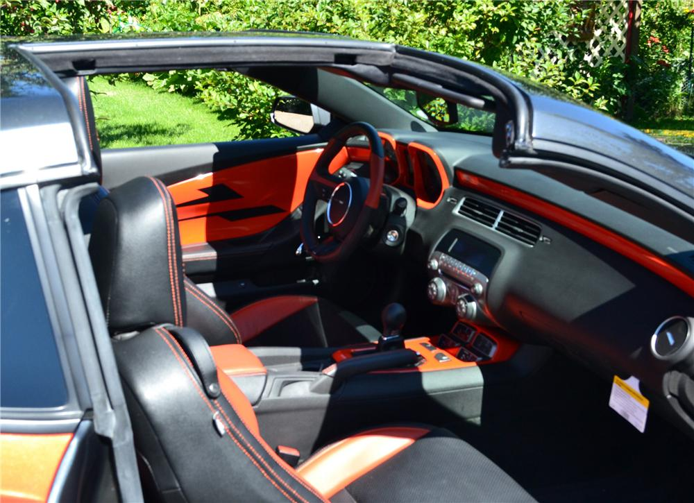 2011 CHEVROLET CAMARO RS/SS CUSTOM 2 DOOR COUPE - Interior - 116117