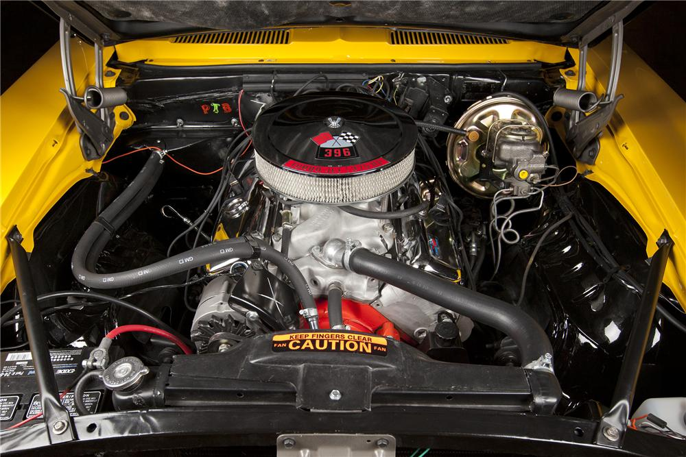 1969 CHEVROLET CAMARO SS COUPE - Engine - 116119