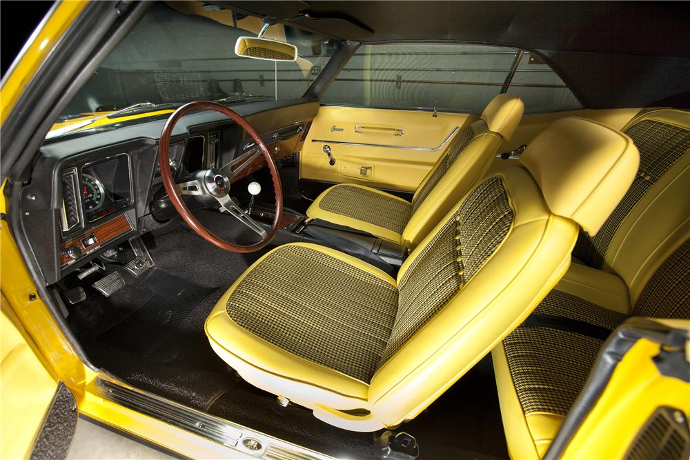 1969 CHEVROLET CAMARO SS COUPE - Interior - 116119