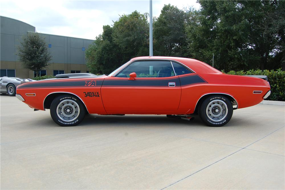 1970 Dodge Challenger T A 2 Door Coupe 116124
