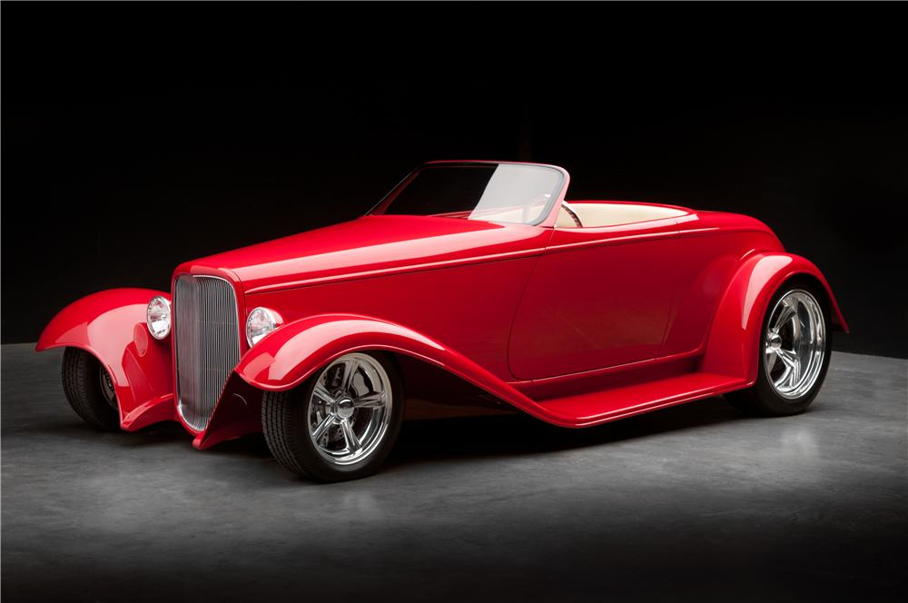 """1932 FORD CUSTOM ROADSTER """"BOYDSTER II"""" - Front 3/4 - 116135"""