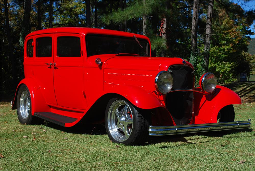 1932 ford custom 4 door sedan 116146