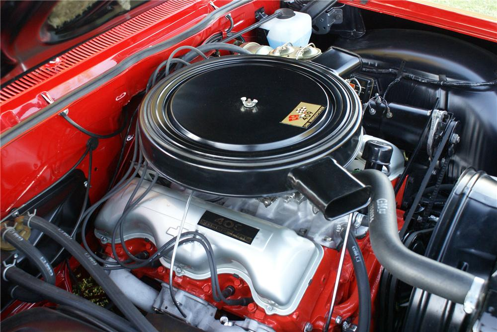 1962 CHEVROLET IMPALA SS CUSTOM CONVERTIBLE - Engine - 116149