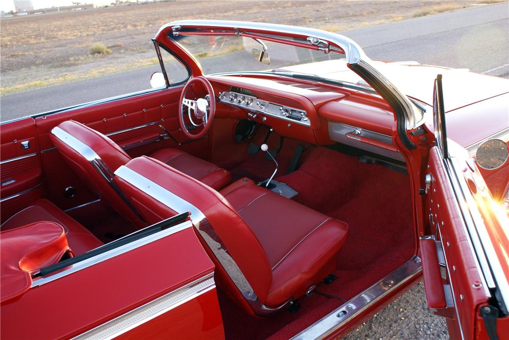 1962 CHEVROLET IMPALA SS CUSTOM CONVERTIBLE - Interior - 116149