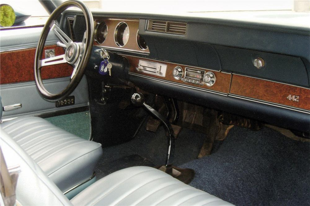 1970 OLDSMOBILE 442 W30 CONVERTIBLE - Interior - 116154