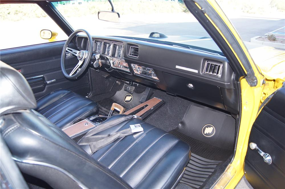 1970 BUICK GSX 2 DOOR - Interior - 116176