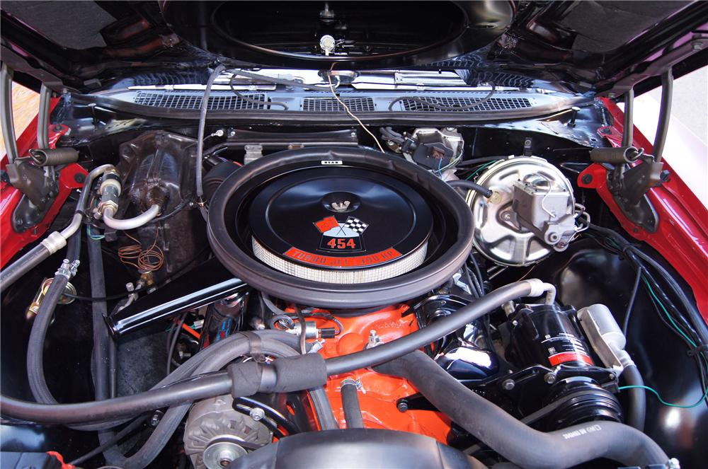 1970 CHEVROLET CHEVELLE LS5 CONVERTIBLE - Engine - 116179