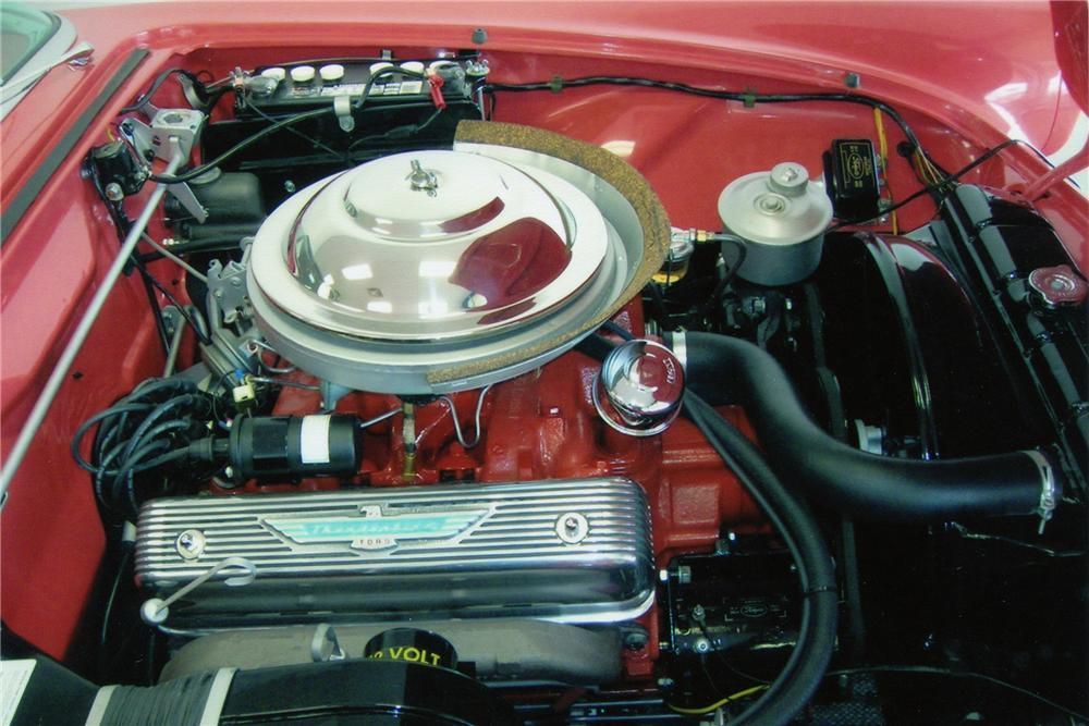 1956 FORD THUNDERBIRD CONVERTIBLE - Engine - 116187