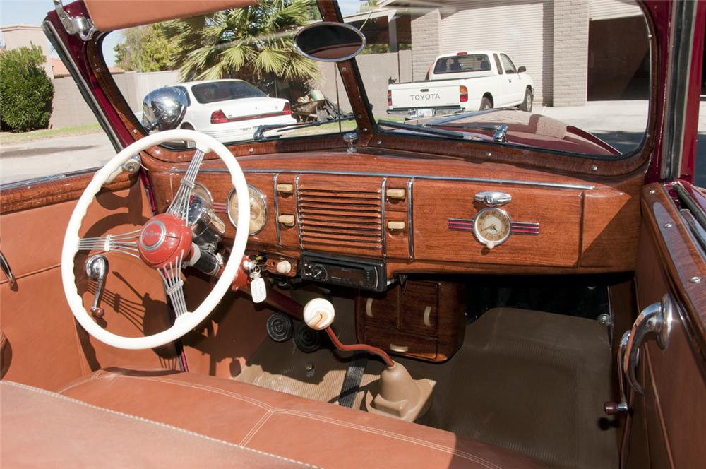 1939 Ford Deluxe Custom Convertible W Rumbleseat 116189