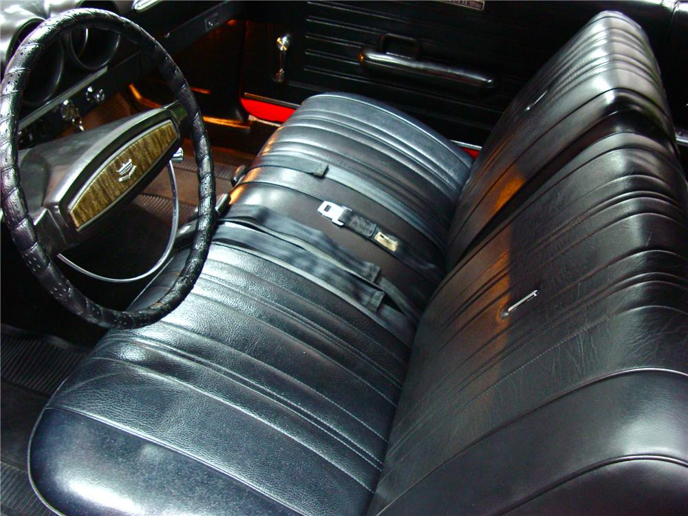1968 FORD TORINO GT CONVERTIBLE - Interior - 116190
