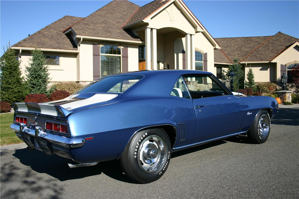 1969 CHEVROLET CAMARO Z/28 COUPE - Rear 3/4 - 116192